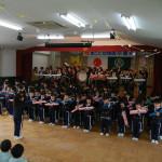 鼓笛の演奏会
