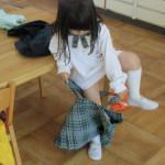 着替えの練習 (2)