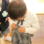 着替えの練習 (3)