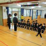卒園式練習 (2)
